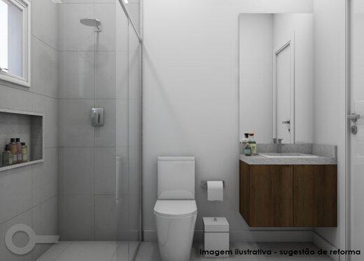 Banheiro - Apartamento à venda Rua Quinze de Setembro,Saúde, São Paulo - R$ 721.642 - II-19296-32160 - 3