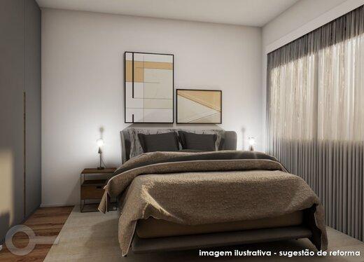 Quarto principal - Apartamento à venda Rua Quinze de Setembro,Saúde, São Paulo - R$ 721.642 - II-19296-32160 - 10