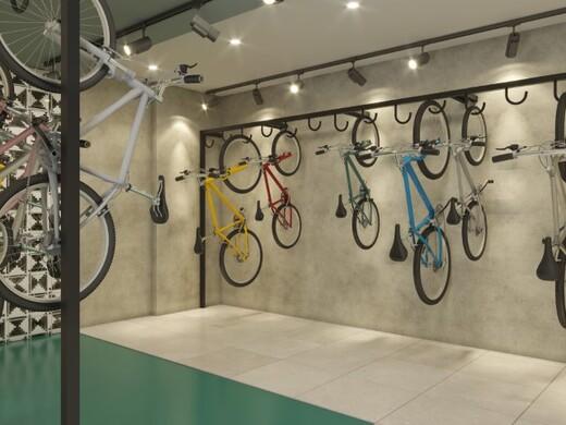 Bicicletario - Apartamento 2 quartos à venda Aclimação, São Paulo - R$ 589.000 - II-19292-32154 - 9