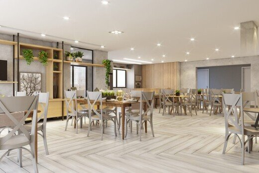 Salao de festas - Apartamento 2 quartos à venda Aclimação, São Paulo - R$ 589.000 - II-19292-32154 - 5