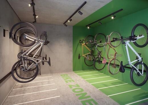 Bicicletario - Studio à venda Rua João de Sousa Dias,Campo Belo, Zona Sul,São Paulo - R$ 375.381 - II-19287-32142 - 15
