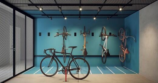 Bicicletario - Studio à venda Rua João de Sousa Dias,Campo Belo, Zona Sul,São Paulo - R$ 375.381 - II-19287-32142 - 16