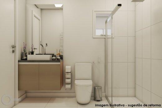 Banheiro - Apartamento 2 quartos à venda Alto da Lapa, São Paulo - R$ 531.000 - II-19329-32207 - 3
