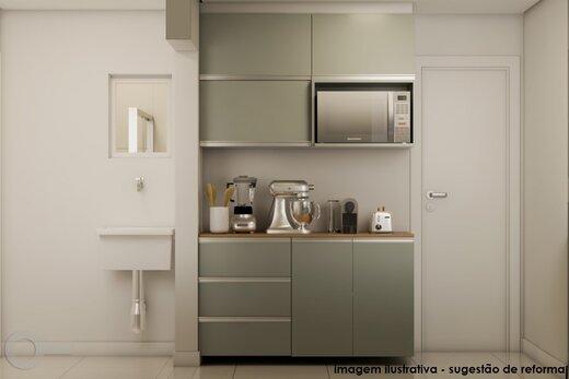 Cozinha - Apartamento 2 quartos à venda Alto da Lapa, São Paulo - R$ 531.000 - II-19329-32207 - 4
