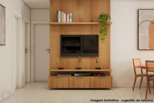 Living - Apartamento 2 quartos à venda Alto da Lapa, São Paulo - R$ 531.000 - II-19329-32207 - 6