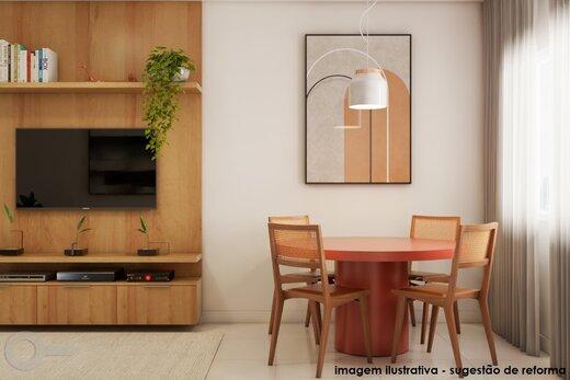 Living - Apartamento 2 quartos à venda Alto da Lapa, São Paulo - R$ 531.000 - II-19329-32207 - 7