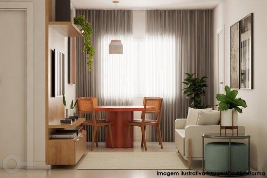 Living - Apartamento 2 quartos à venda Alto da Lapa, São Paulo - R$ 531.000 - II-19329-32207 - 8