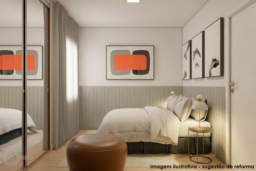 Quarto principal - Apartamento 2 quartos à venda Alto da Lapa, São Paulo - R$ 531.000 - II-19329-32207 - 9