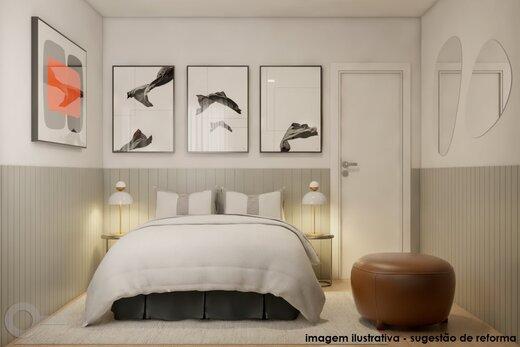 Quarto principal - Apartamento 2 quartos à venda Alto da Lapa, São Paulo - R$ 531.000 - II-19329-32207 - 10