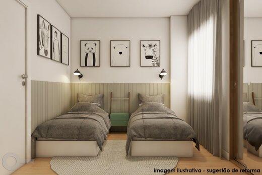 Quarto principal - Apartamento 2 quartos à venda Alto da Lapa, São Paulo - R$ 531.000 - II-19329-32207 - 11
