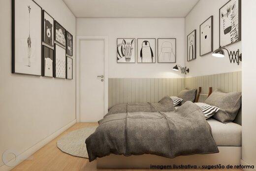 Quarto principal - Apartamento 2 quartos à venda Alto da Lapa, São Paulo - R$ 531.000 - II-19329-32207 - 12