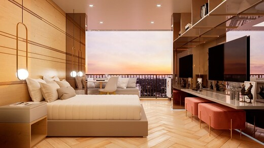 Dormitorio - Fachada - HUB Alto da Boa Vista - Residencial - Breve Lançamento - 1031 - 4
