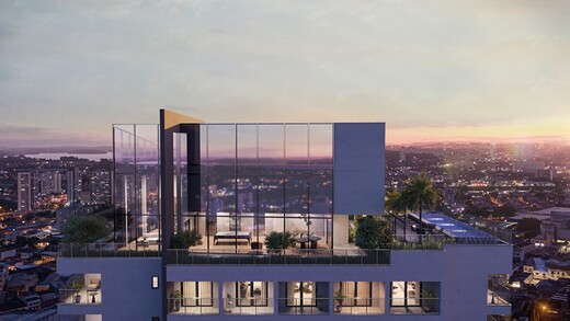 Voo de passaro - Fachada - HUB Alto da Boa Vista - Residencial - Breve Lançamento - 1031 - 13
