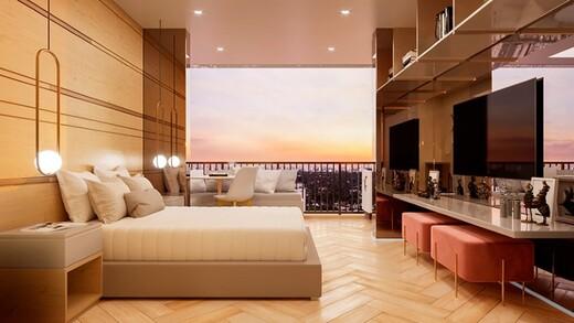 Dormitorio - Fachada - HUB Alto da Boa Vista - Studios NR - Breve Lançamento - 1032 - 4