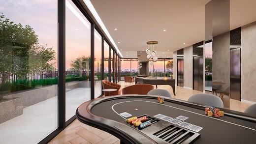 Sala de jogos - Fachada - HUB Alto da Boa Vista - Studios NR - Breve Lançamento - 1032 - 11