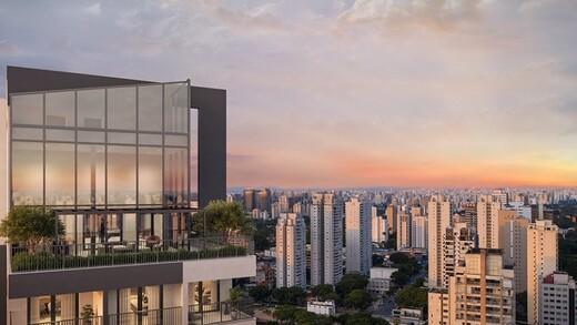 Voo de passaro - Fachada - HUB Alto da Boa Vista - Studios NR - Breve Lançamento - 1032 - 14