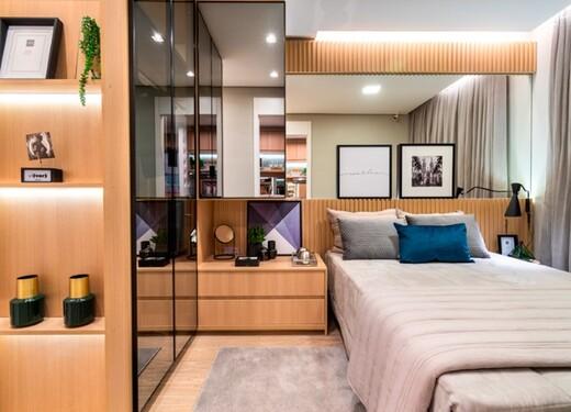 Dormitorio - Fachada - Plano&Estação Barra Funda - Fase 1 - 1087 - 10