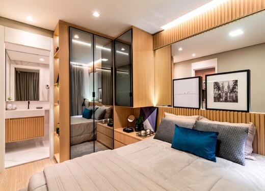 Dormitorio - Fachada - Plano&Estação Barra Funda - Fase 1 - 1087 - 12