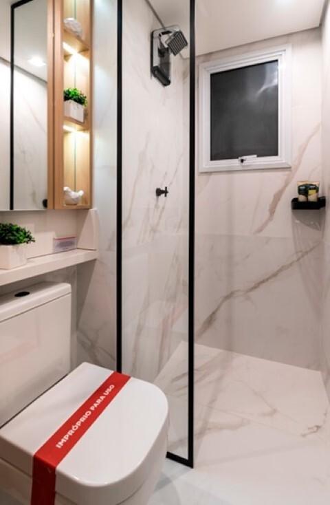Banheiro - Fachada - Plano&Estação Barra Funda - Fase 1 - 1087 - 15