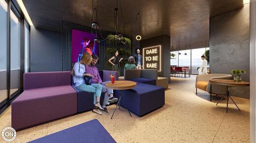 Lounge - Studio à venda Avenida Santo Amaro,Santo Amaro, São Paulo - R$ 319.951 - II-19387-35576 - 8