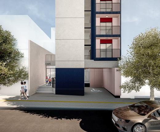 Portaria - Fachada - Bem Viver Design - Residencial - Breve Lançamento - 1075 - 2