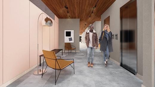 Hall - Fachada - Bem Viver Design - Residencial - Breve Lançamento - 1075 - 4