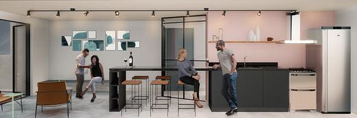 Salao de festas - Fachada - Bem Viver Design - Residencial - Breve Lançamento - 1075 - 5