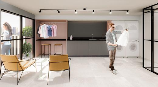 Laundry - Fachada - Bem Viver Design - Residencial - Breve Lançamento - 1075 - 7