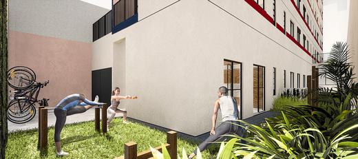 Fitness externo - Fachada - Bem Viver Design - Residencial - Breve Lançamento - 1075 - 8