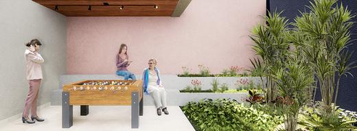Lounge - Fachada - Bem Viver Design - Residencial - Breve Lançamento - 1075 - 11