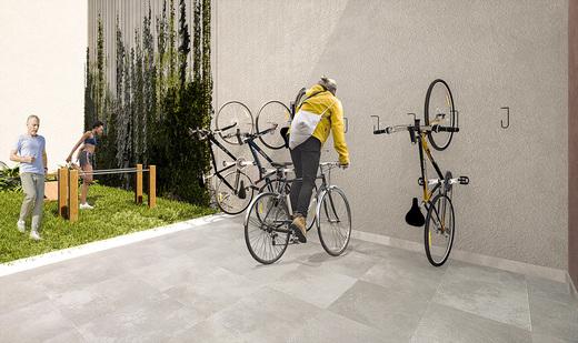 Bicicletario - Fachada - Bem Viver Design - Residencial - Breve Lançamento - 1075 - 12