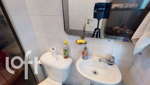 Banheiro - Apartamento à venda Rua Doutor Abelardo Vergueiro César,Campo Belo, São Paulo - R$ 875.000 - II-19535-32526 - 15