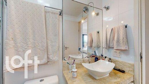 Banheiro - Apartamento à venda Rua Doutor Abelardo Vergueiro César,Campo Belo, São Paulo - R$ 875.000 - II-19535-32526 - 17