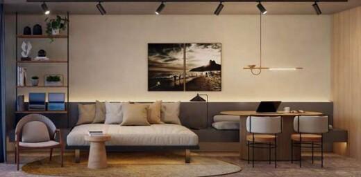 Living - Cobertura 2 quartos à venda Rio de Janeiro,RJ - R$ 3.900.600 - II-19435-32369 - 4