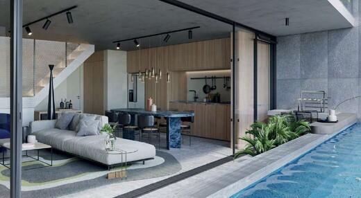Living - Cobertura 2 quartos à venda Rio de Janeiro,RJ - R$ 3.900.600 - II-19435-32369 - 5