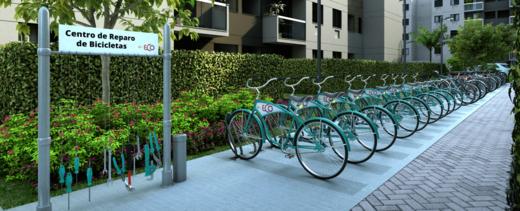 Bicicletario - Casa em Condomínio 2 quartos à venda Vargem Grande, Rio de Janeiro - R$ 260.000 - II-19488-32457 - 14