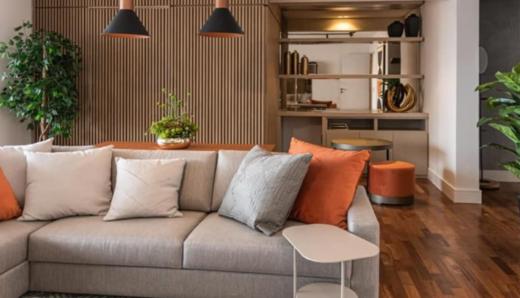 Living - Apartamento à venda Rua Coelho de Carvalho,Alto da Lapa, Zona Oeste,São Paulo - R$ 2.449.500 - II-19512-32491 - 4