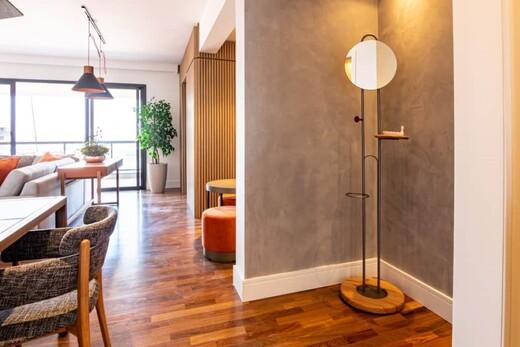 Living - Apartamento à venda Rua Coelho de Carvalho,Alto da Lapa, Zona Oeste,São Paulo - R$ 2.449.500 - II-19512-32491 - 5