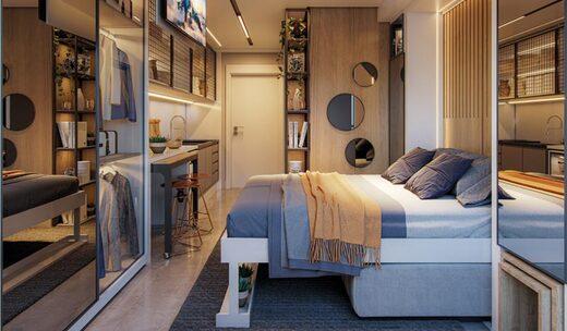 Dormitorio - Fachada - ID Home & Lifestyle Paraíso - Studios Residenciais - 1081 - 4