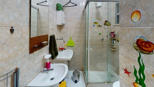 Banheiro - Apartamento 1 quarto à venda Copacabana, Rio de Janeiro - R$ 455.000 - II-19601-32614 - 3