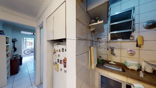 Cozinha - Apartamento 1 quarto à venda Copacabana, Rio de Janeiro - R$ 455.000 - II-19601-32614 - 4