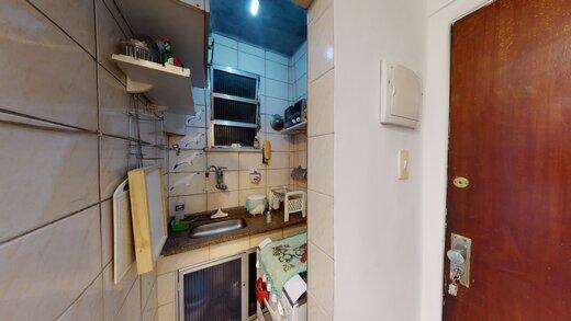 Cozinha - Apartamento 1 quarto à venda Copacabana, Rio de Janeiro - R$ 455.000 - II-19601-32614 - 5