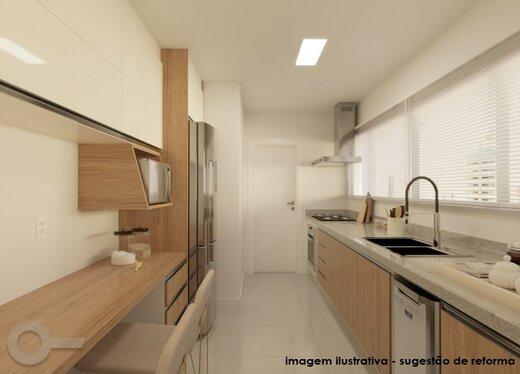 Cozinha - Apartamento à venda Rua Sampaio Viana,Paraíso, Zona Sul,São Paulo - R$ 2.209.000 - II-19602-32615 - 4