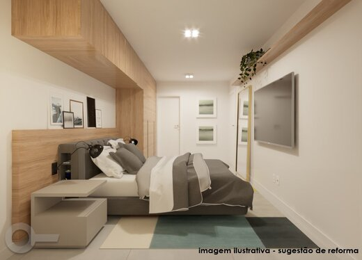 Quarto principal - Apartamento à venda Rua Sampaio Viana,Paraíso, Zona Sul,São Paulo - R$ 2.209.000 - II-19602-32615 - 15
