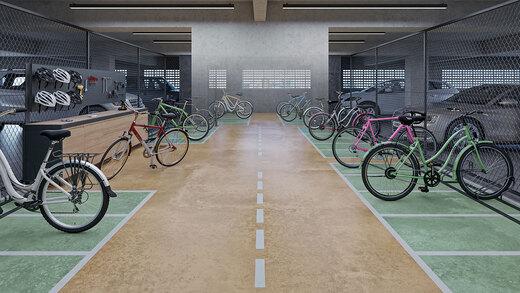 Bicicletario - Fachada - Urbo Vila Prudente - 1048 - 20