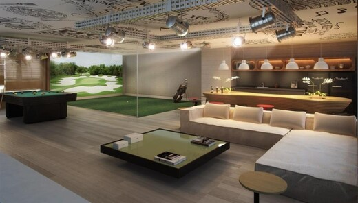 Salao de jogos - Fachada - Riserva Golf Vista Mare Residenziale - Fase 2 - 124 - 26