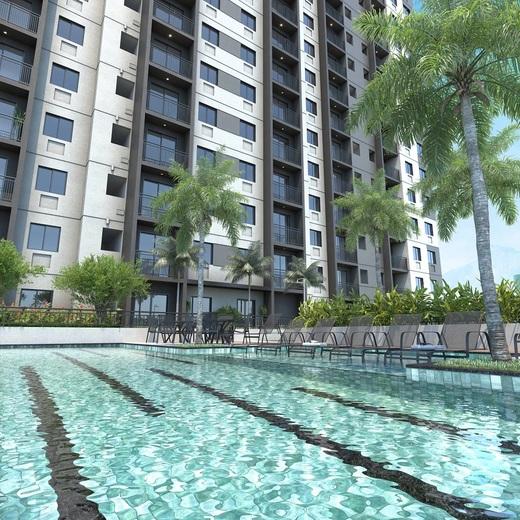 Piscina - Apartamento 1 quarto à venda Jacarepaguá, Rio de Janeiro - R$ 228.246 - II-19640-32682 - 11
