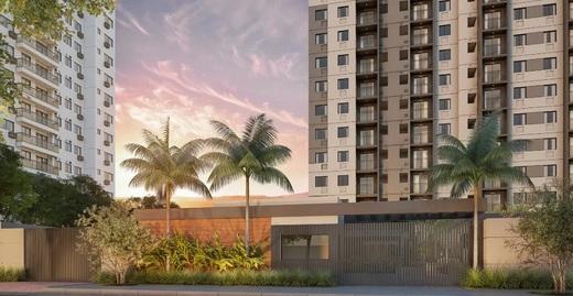 Fachada - Apartamento 1 quarto à venda Jacarepaguá, Rio de Janeiro - R$ 228.246 - II-19640-32682 - 1