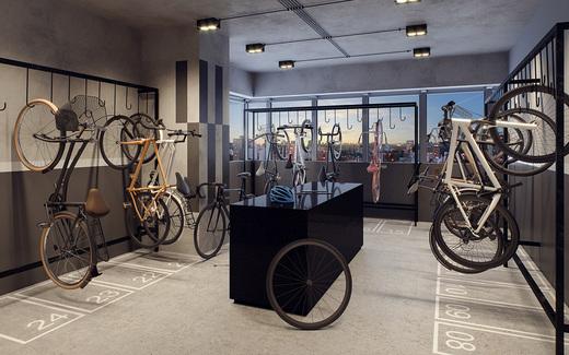 Bicicletario - Fachada - Haus Mitre Santa Cruz - Studios NR - 1106 - 14