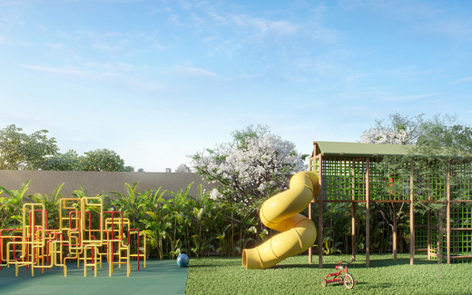 Playground - Fachada - Haus Mitre Santa Cruz - Studios NR - 1106 - 15